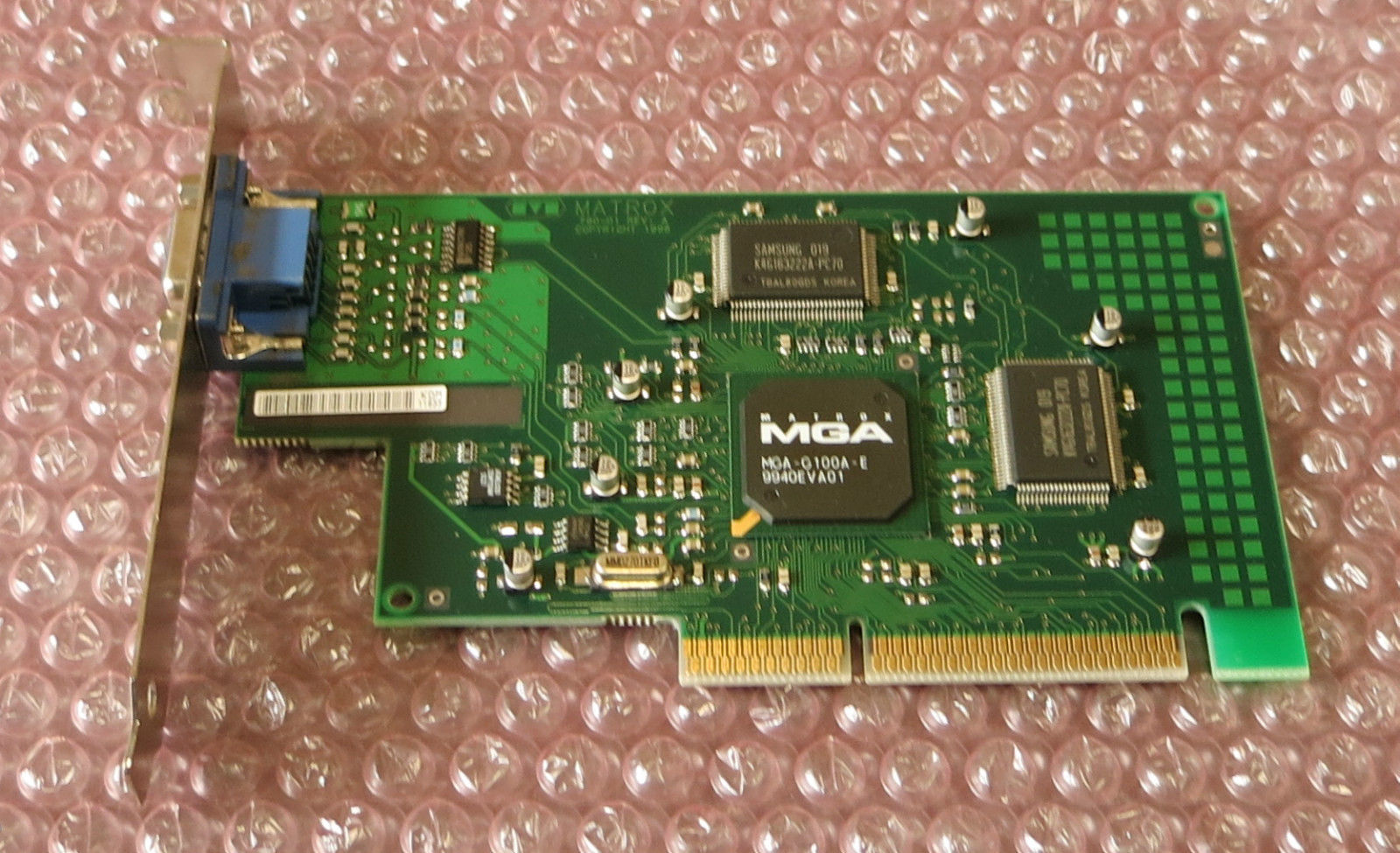 MATROX G100A E WINDOWS DRIVER